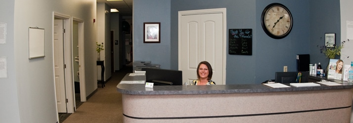 Chiropractic Oak Ridge TN reception